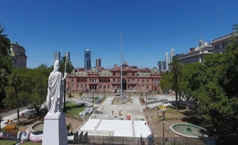 Denuncian que las reformas en la Plaza de Mayo no respetan el patrimonio  histórico - TanPolítica